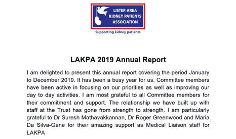 LAKPA 2019 Newsletter