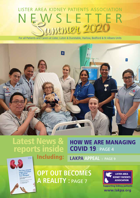 LAKPA Newsletter Summer 2020 Edition